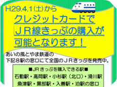 JRきっぷクレジットカード