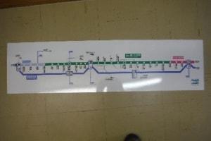 413路線図